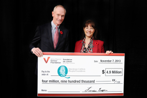2013 4.9 Million Cheque