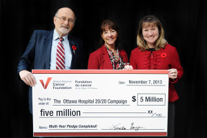 2014 5 Million Cheque