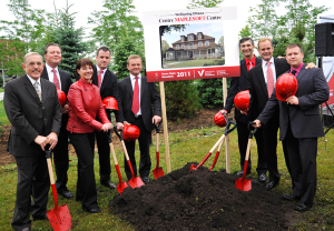 2010 Groundbreaking Maplesoft Centre