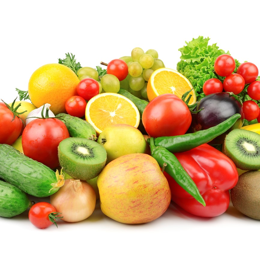 День рождение, открытки фрукты и овощи