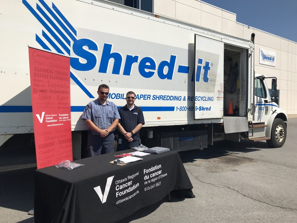 Shred-It for a Cure - Ottawa Regional Cancer Foundation