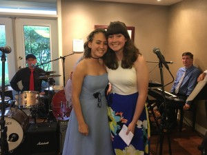 Elizabeth & Mary host Battling Cancer with the Blues