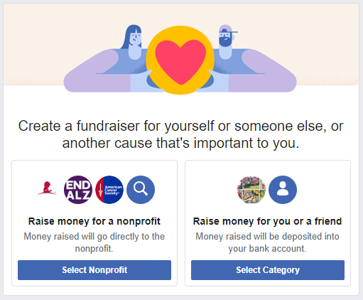 Facebook Fundraisers 2