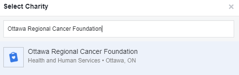 Facebook Fundraisers 3
