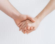 Unsplash - Couple Holding Hands