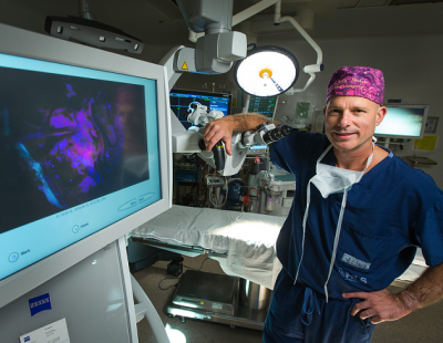 Thanks to you, Dr. Sinclair brought a state-of-the-art brain cancer treatment right here to our community.