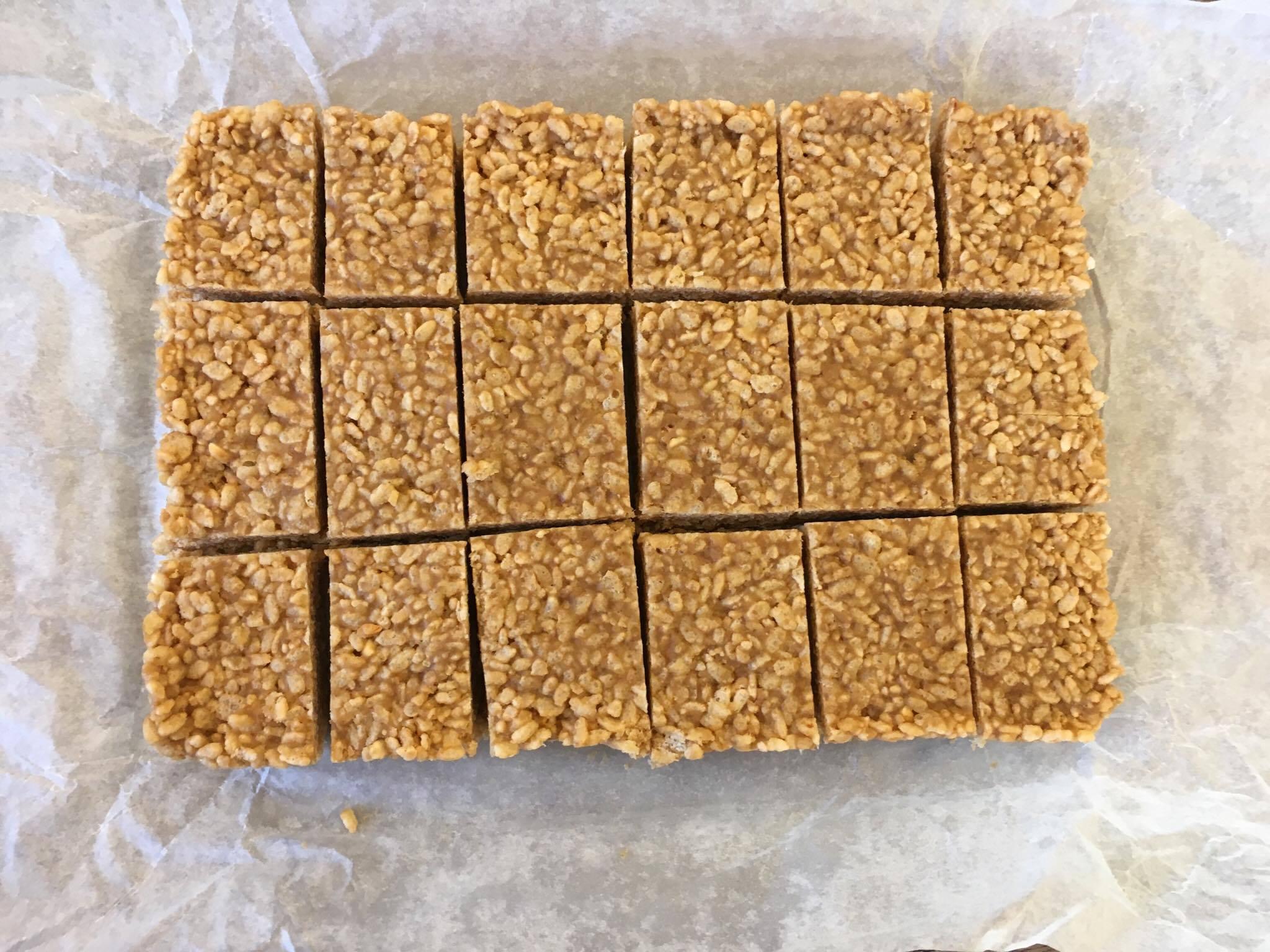 rice krispie square