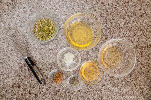 kale berry salad dressing